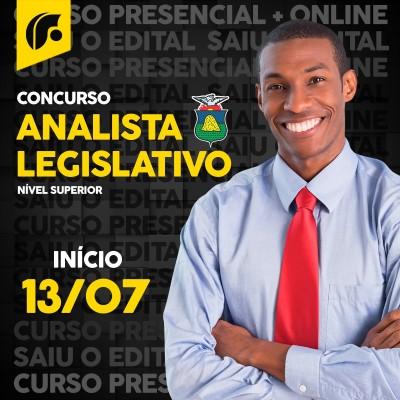 Curso Intensivo para Analista Legislativo - CMC - Online